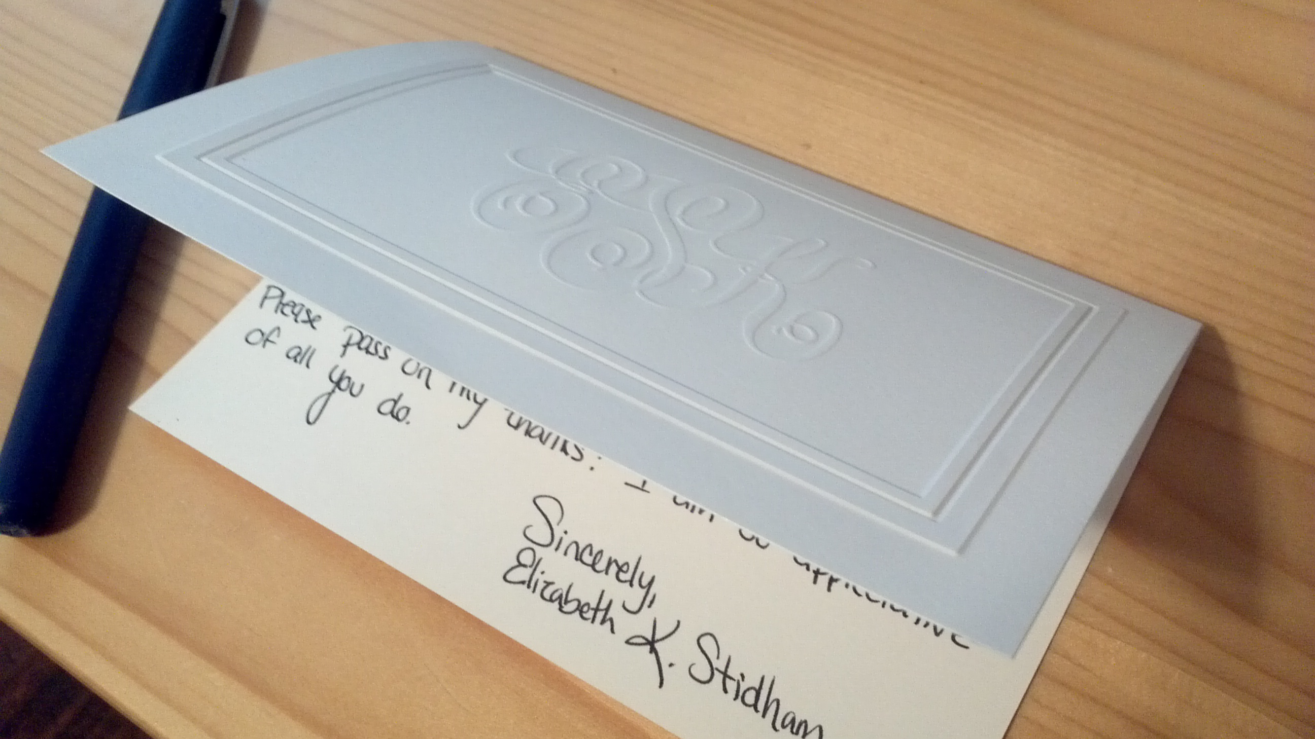 The Handwritten Note Thank You – Writing Thank You Notes